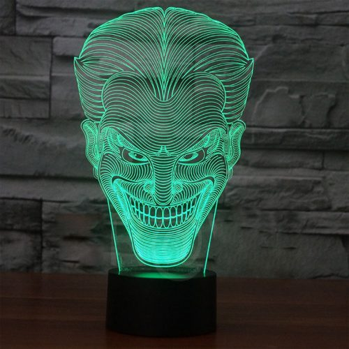Joker 3d led lamp