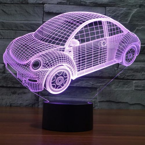 Car Design 3d LED Lamp