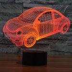 Car Design 3d LED Lamp
