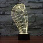 Cobra 3d led lamp