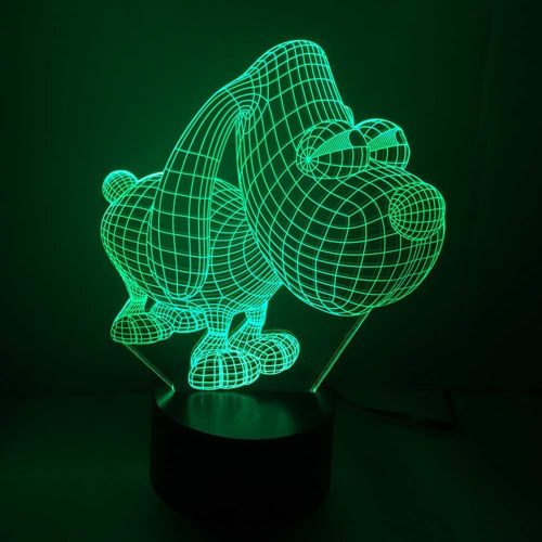 Dog Design 3d LED Lamp