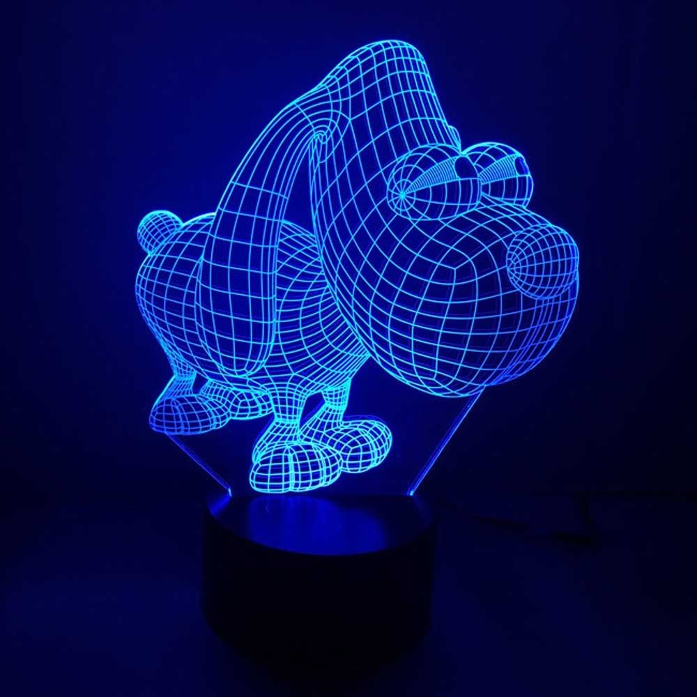 Doggie Design 3d Led Lamp