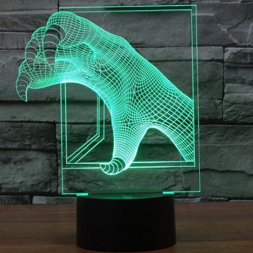 Dragon Claw 3D LED Lamp