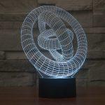 Illusion Rings 3d LED Lamp