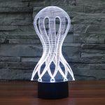 Jelly Fish 3d LED Lamp