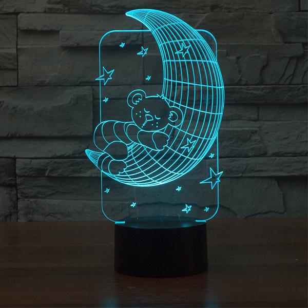 Moon 3d Led Lamp
