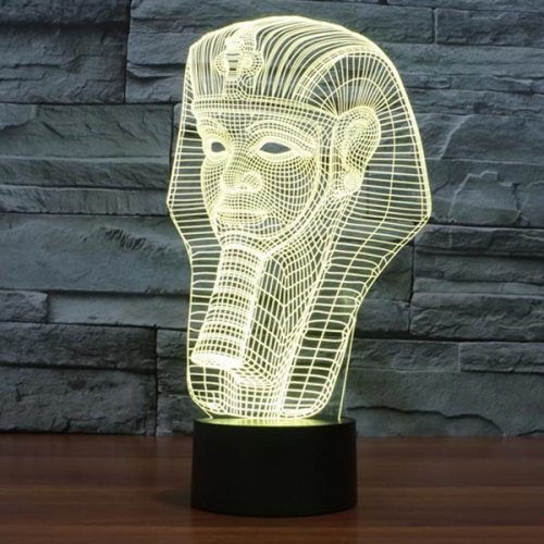 Pharaoh 3D LED Lamp