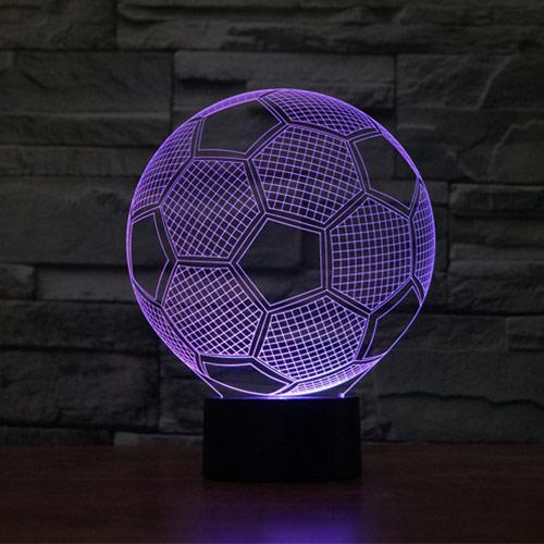 Soccer Ball 3d LED Lamp