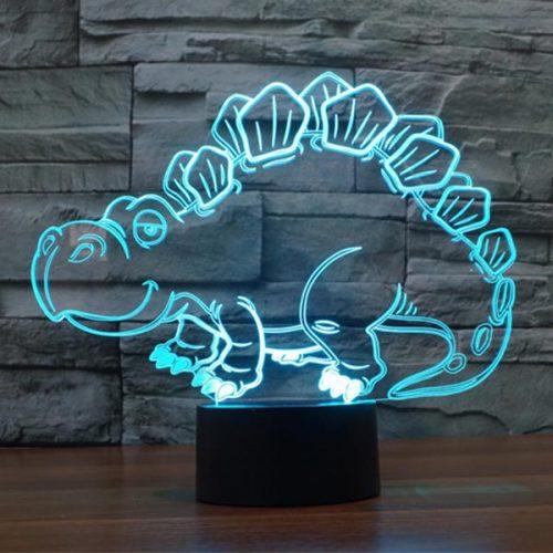 Stegosaurus 3D LED Lamp