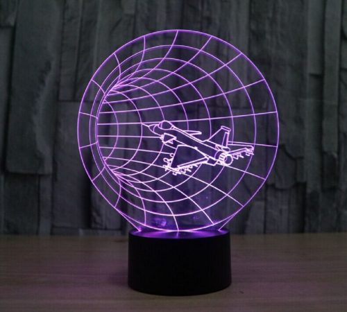 Time Warp 3d led lamp