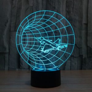 Time Warp 3d led lamp