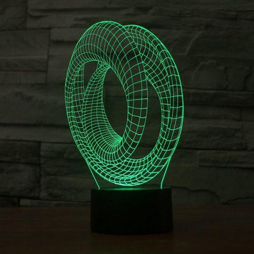 illusion modal 3 3d led lamp 2