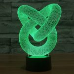 Illusion modal 4 3d led lamp