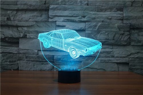 Aqua Car 3d led lamp