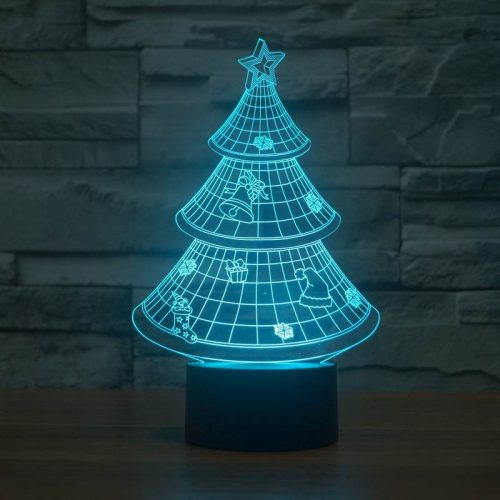 Christmas Tree 3d led lamp