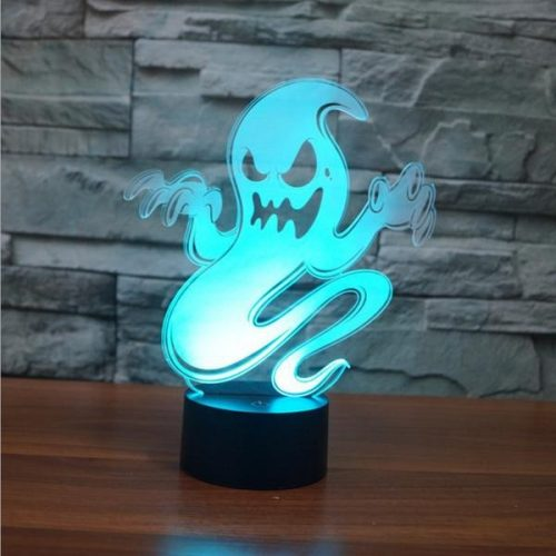 Ghost 3d led lamp 2