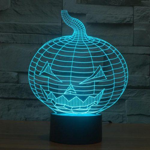 Halloween 3d led lamp 2