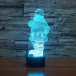 Santa 3d led lamp 2