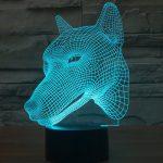 Wolf 3d led lamp 2