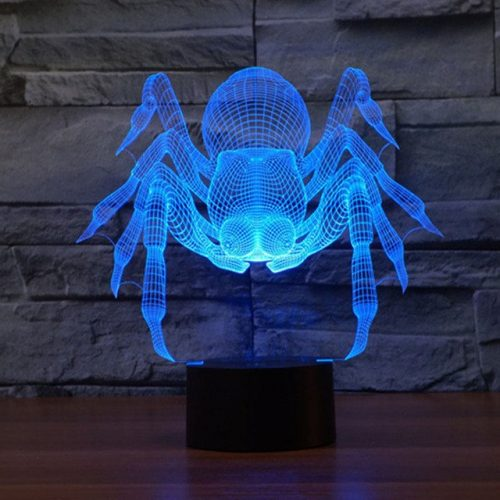 Spider 3d led lamp