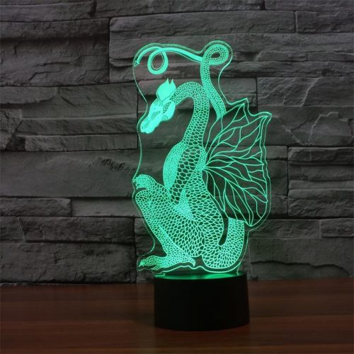 Dragon 3d led lamp 4