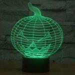 Halloween 3d led lamp 3