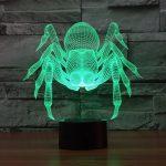 Spider 3d led lamp 2