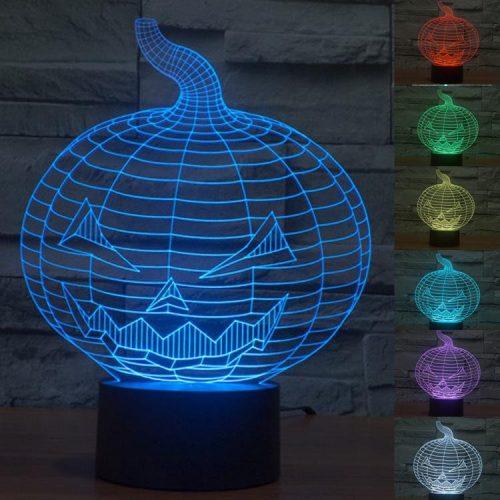 Halloween 3d led lamp 6