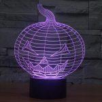 Halloween 3d led lamp 4