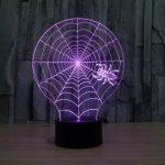 Spider Web 3d led lamp 4