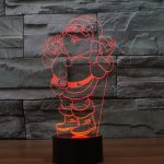 Ho Ho Santa 3d led lamp 4