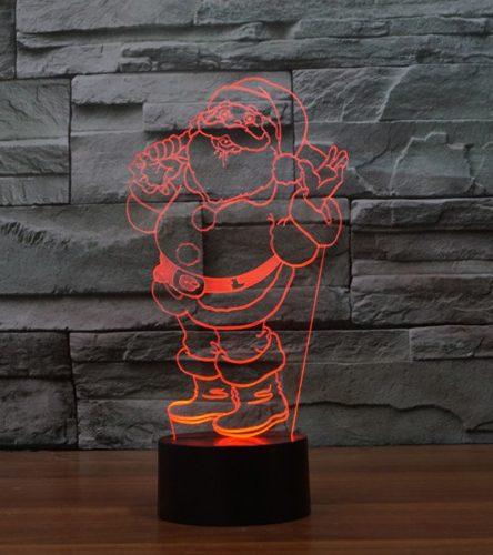 Ho Ho Santa 3d led lamp 4