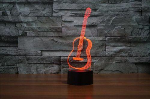 Guitar 3d led lamp 5