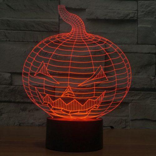 Halloween 3d led lamp