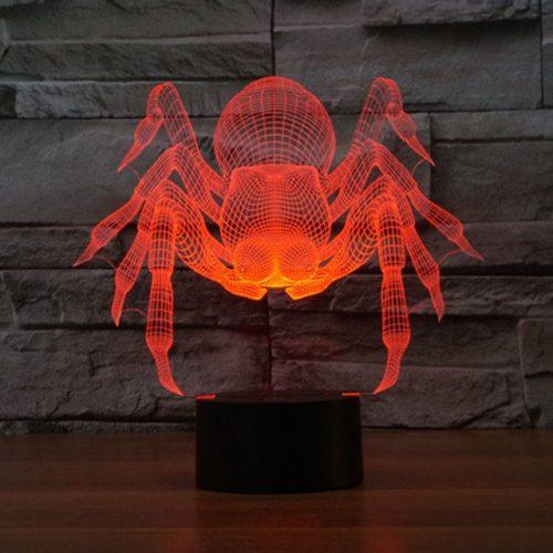 Spider 3d led lamp 4