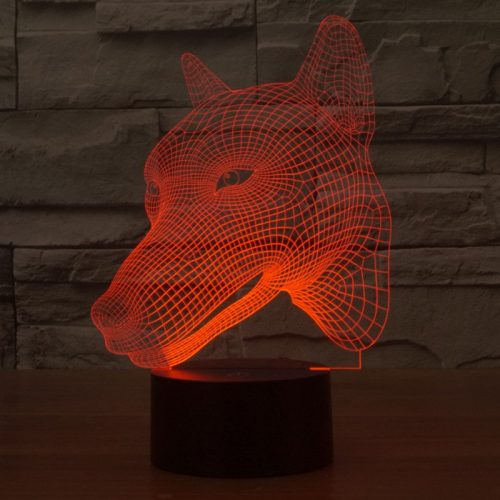 Wolf 3d led lamp 4