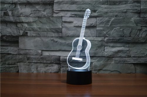 Guitar 3d led lamp 6