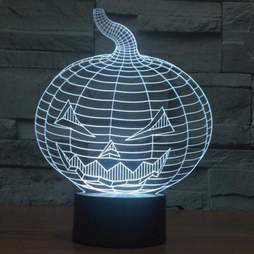 Halloween 3d led lamp 5