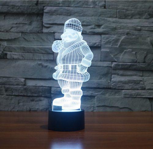 Santa 3d led lamp 5