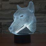 Wolf 3d led lamp 5