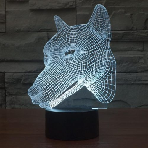 Wolf 3d led lamp 5