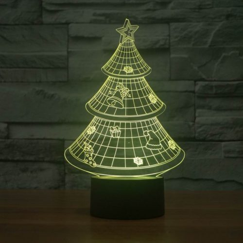 Christmas Tree 3d led lamp 6