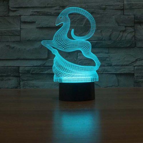 antelope 3d led night light