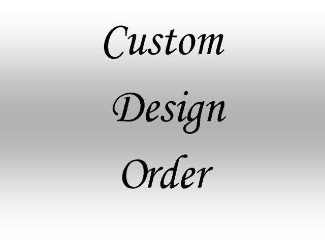 custom design orders
