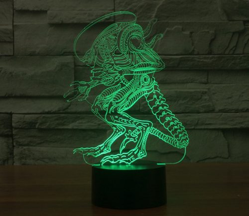 Alien vs Predator 3D LED Lamp 2