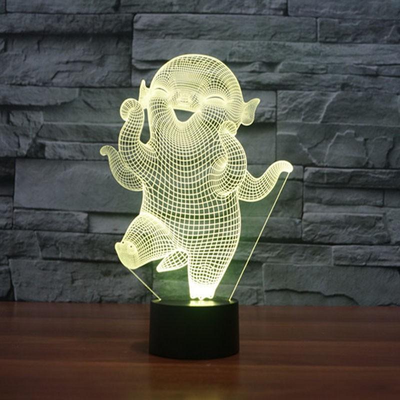 Creative Cartoon Huba 3d Led Lamp