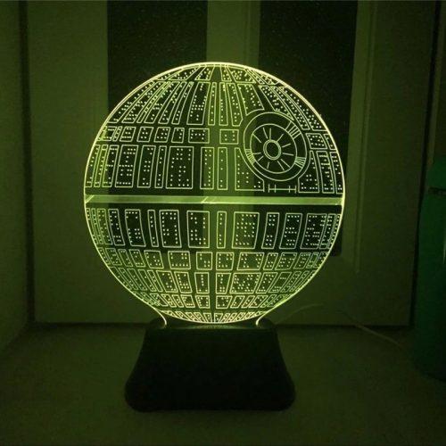 Death Star 3D LED Lamp 3