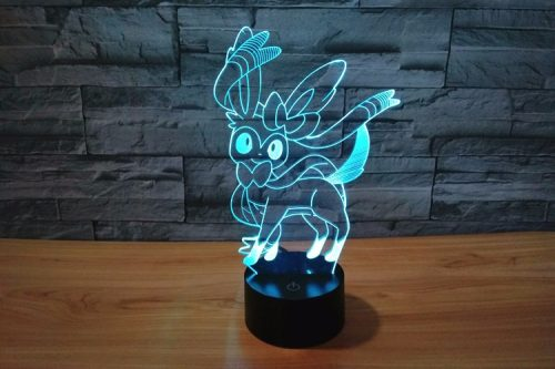Pokeman Xian Yibei 3D LED Lamp 3