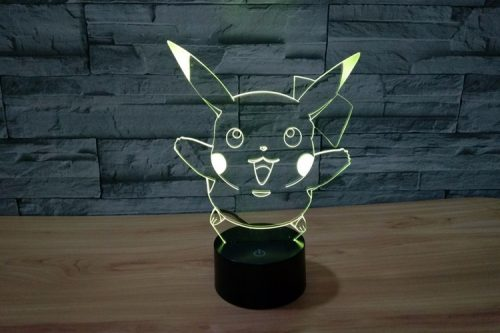 Pokemon Pikachu 3D LED Lamp 5
