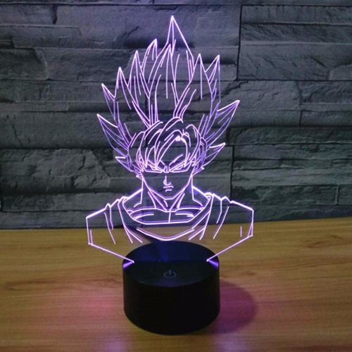 SON GOKU Dragonball 3D LED Lamp 2